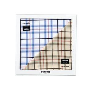 renoma紳士ハンカチ2枚入り 420-09A