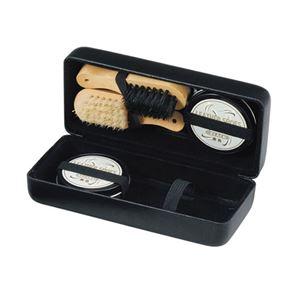 靴磨きセット(ハードケース入) 409-06A