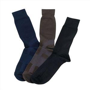 デキる男の靴下1PBK 168-03A