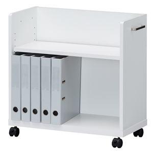 白井産業アンダーデスクワゴンOF2-6060Pホワイト