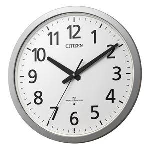 リズム時計 シチズン電波掛時計 4MY855-019