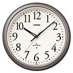 カシオ電波掛時計 シルバー IQ-1050NJ-8JF