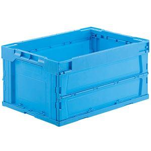 ジョインテックス オリタタミコンテナ L41510BL-J 40L ブルー