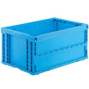 ジョインテックス オリタタミコンテナ P75BS510-J 75L ブルー