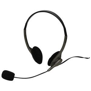 (まとめ)ナカバヤシ 両耳用ヘッドセットMHM-S16BK【×30セット】