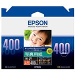 (まとめ)エプソン 写真用紙 光沢 KL400PSKR【×10セット】