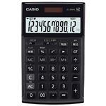 (まとめ)カシオ計算機 本格実務電卓 JS-20WK-MBK-N ブラック【×5セット】