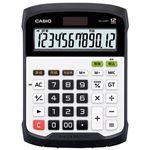 (まとめ)カシオ計算機 防水防塵電卓 WD-320MT-N【×5セット】