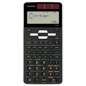 (まとめ)シャープ 関数電卓 EL-509T-WX【×10セット】