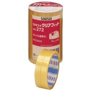 (まとめ)セキスイ クリアフィットNo.272 15mm×35m 10巻【×30セット】
