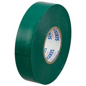 (まとめ)セキスイ ビニールテープ V360M02 19mm×20m 緑【×200セット】