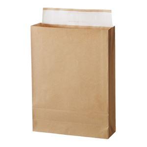 (まとめ)スーパーバッグ 宅配袋 未晒フィルム貼り 大 100枚入【×5セット】