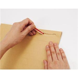 (まとめ)今村紙工 クッション封筒 茶テープ付 A4サイズ用10枚【×30セット】