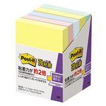 (まとめ)スリーエム ジャパン Post-it強粘着パステル656-5SSAP【×30セット】