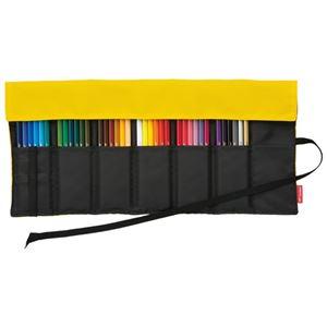 (まとめ)トンボ鉛筆ロールケース入色鉛筆36色NQCR-NQ36C【×2セット】