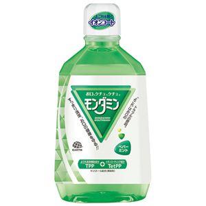 (まとめ)アース製薬 モンダミン ペパーミント 1080mL【×30セット】