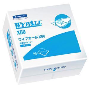 (まとめ)日本製紙クレシアワイプオールX604ツ折り60560【×10セット】
