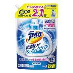 (まとめ)花王 アタック抗菌EX クリアジェル 詰替 1.6kg【×5セット】