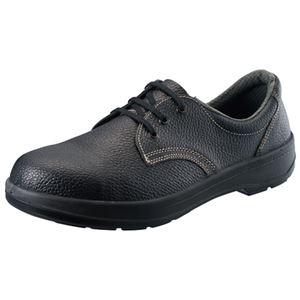 シモンポリウレタン2層底安全靴AW1125.0cm