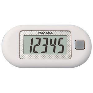(まとめ)山佐時計計器 ポケット万歩 EX-150 ホワイト【×5セット】