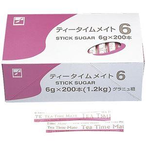(まとめ)三井製糖シュガーティータイム6g200本8112【×5セット】