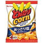 (まとめ)ハウス食品 とんがりコーン あっさり塩 20袋入 1箱【×5セット】