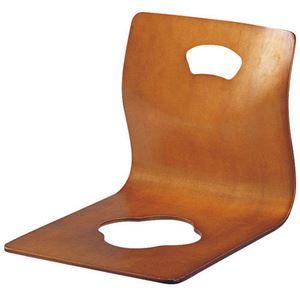 KOEKI 座椅子 GZ-395 ブラウン - 拡大画像