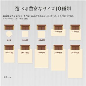 低反発 ラグ ブラウン 茶色 極厚 100×100  正方形 【やさしいフランネル防音低反発ラグ】 遮音 防音マット ノンホル ラグマット