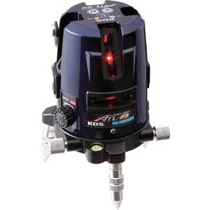 KDS レーザー墨出器スーパーレイATL-85受光器・三脚付 ATL85RSA