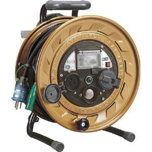ハタヤ メタルセンサー(金属感知機能付)リール 単相100V接地付 30m MSB301KX