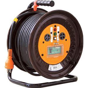 日動 電工ドラム 三相200Vドラム アース漏電しゃ断器付 30m NDEB33020A