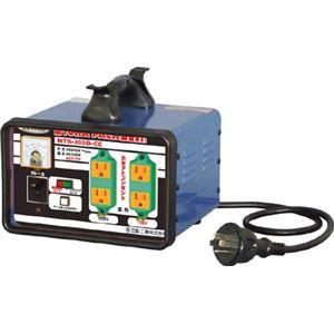 日動 変圧器 降圧専用カセットコンセントトラパック 3KVA NTB300DCC