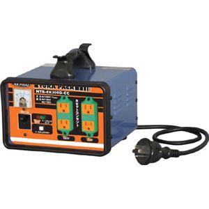 日動 変圧器 降圧専用セットコンセントトラパック アース過負荷漏電しゃ断器付 NTBEK300DCC