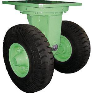 佐野車輌 超重量級キャスター ダブル自在車 荷重6400kgタイプ 2846