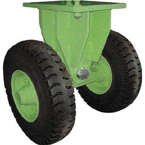 佐野車輌 超重量級キャスター ダブル固定車 荷重6400kgタイプ 2866