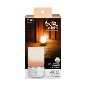 ELPA(エルパ) もてなしのあかり 据置大型 6W電球色LED HLH-1202(PW)