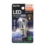 (業務用セット) ELPA LEDナツメ球 E17 クリア電球色 LDT1CL-G-E17-G116 【×10セット】