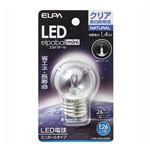 (業務用セット) ELPA LED装飾電球 ミニボール球形 E26 G40 クリア昼白色 LDG1CN-G-G255 【×5セット】