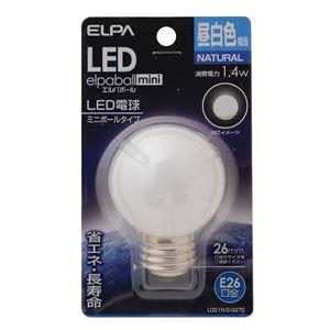 (業務用セット)ELPALED装飾電球ミニボール球形E26G50昼白色LDG1N-G-G270【×5セット】