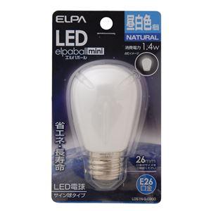 (業務用セット)ELPALED装飾電球サイン球形E26昼白色LDS1N-G-G900【×5セット】