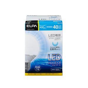 (業務用セット)ELPALED電球ミニボール球形40W形E26G70昼光色LDG5D-G-G210【×2セット】