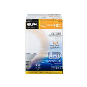 (業務用セット)ELPALED電球ミニボール球形40W形E26G70電球色LDG5L-G-G211【×2セット】