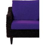 【本体別売】クッションカバー オットマン用 グランツシリーズ パープル(紫)商品画像