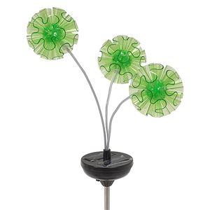 ソーラーライト LEDランプ [屋外/ガーデン/室内] LP-4171 グリーン(緑)  - 拡大画像