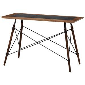 おしゃれでシンプルなテーブル・デスク ダイニングテーブル 長方形 リベルタIIシリーズ 木製(マホガニー)/スチール製 RT-1411
