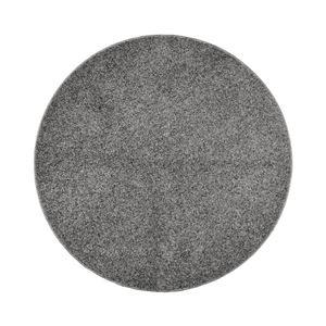 抗菌防臭 ラグマット/絨毯 【160R グレー】 円形 日本製 折りたたみ 防ダニ ホットカーペット 通年可 『デタント』