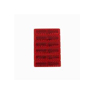 (まとめ) 反射レンズ(赤) 6704 【×20セット】