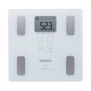 オムロン 体重体組成計 カラダスキャン / HBF-214-W ホワイト - 拡大画像