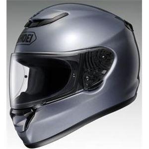 フルフェイスヘルメット QWEST パールグレーメタリック M 【バイク用品】