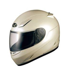 フルフェイス ヘルメット FF-R3 パールホワイト M 【バイク用品】
